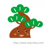 松の木キャラクター